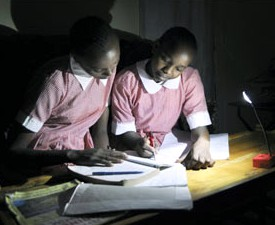 LED lighting facilitates education in Africa
