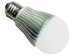 LED 7W globe replacement for 240volt, 40W incandescent light bulb