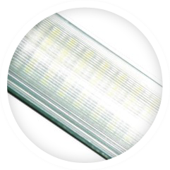 LED lights used in offices and homes